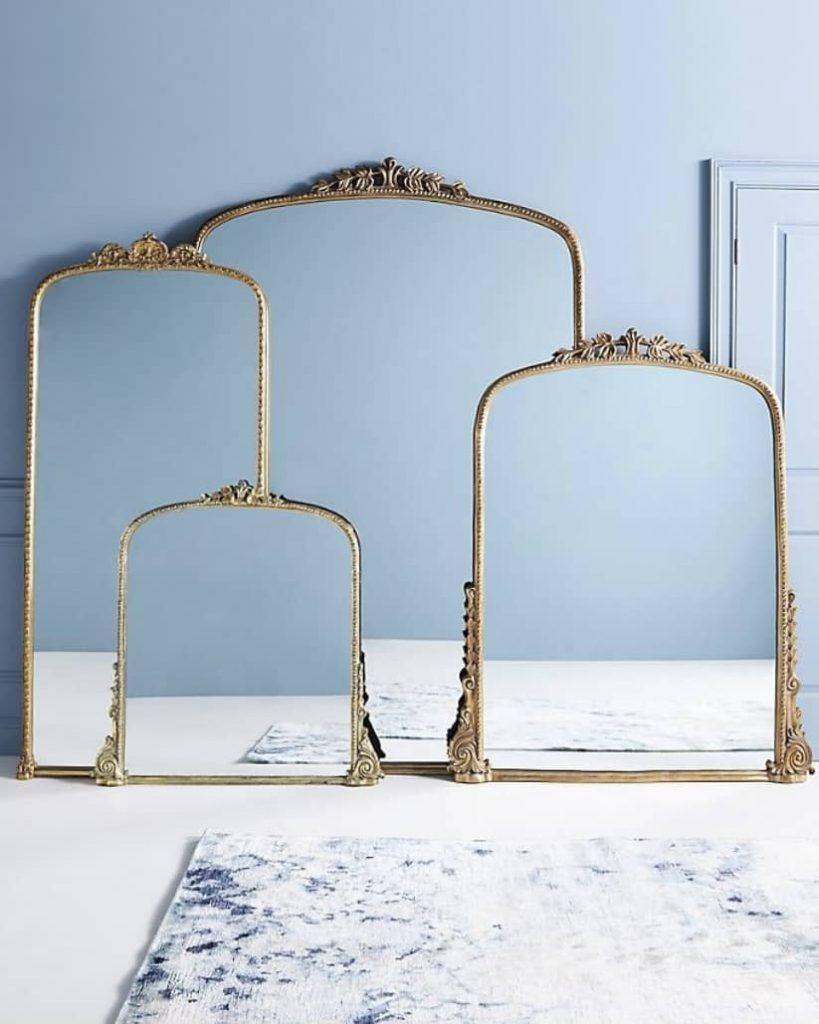 Anthropologie mirror dupe (1)