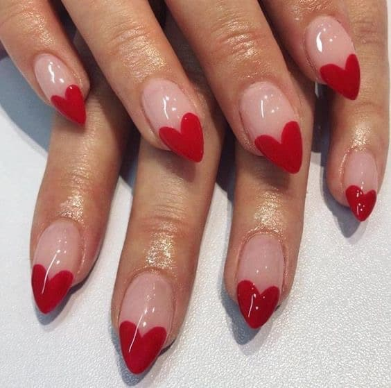 40+ Cute Valentines nails that are trendy af for 2021