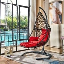 cheap egg chair with stand