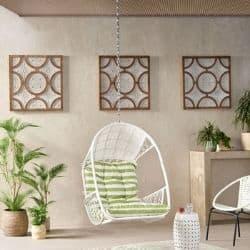 indoor hanging egg chair